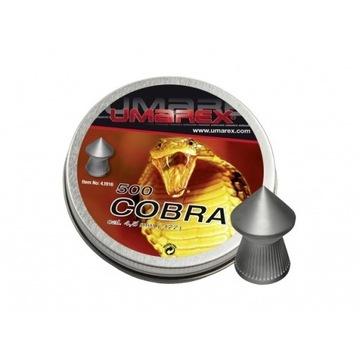 Śrut diabolo Umarex Cobra Pointed Ribbed 4,5/500 5