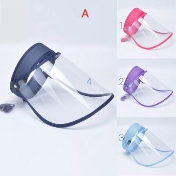 Ochrona na usta i nos (przyłbice) dla dzieci i dor