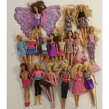 Mega zestaw lalek Barbie+Domek+Szafa+Akcesoria