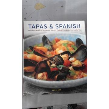 Ksiazka kulinarna Tapas and Spanish