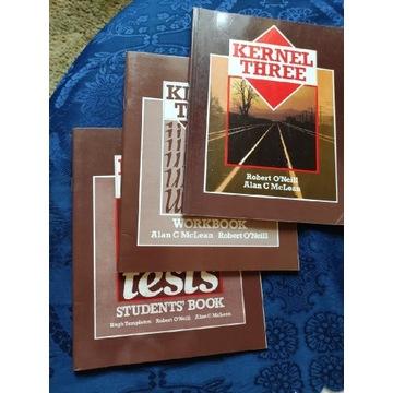 Kernel three workbook i student's  oraz podręcznik