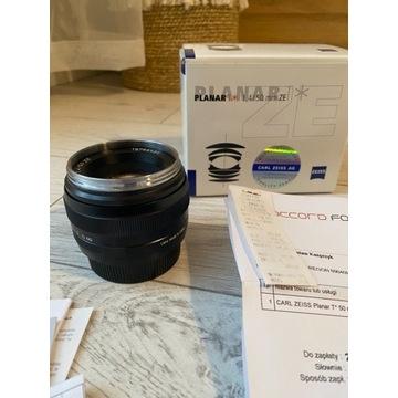 Carl Zeiss Planar 1.4/ 50 mm ZE  / mocowanie Canon