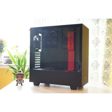Obudowa NZXT H510 | Czarno-czerwona
