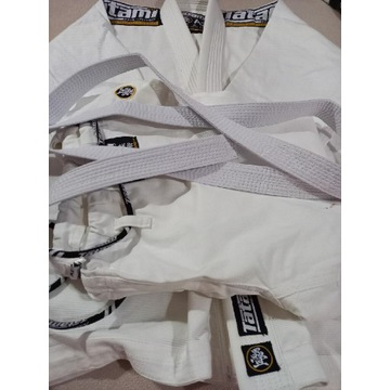 Białe Gi TATAMI Nova Absolute + Biały Pas A2