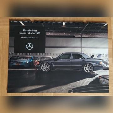 KALENDARZ 2020 MERCEDES-BENZ CLASSIC 70x50 cm
