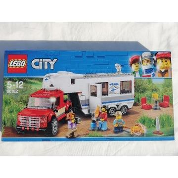 LEGO CITY 60182 PICKUP Z PRZYCZEPĄ  NOWY