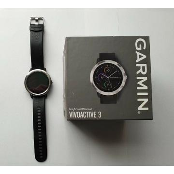 Garmin Vivoactive 3 Zegarek sportowy + akcesoria