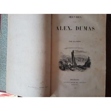 A.Dumas IV - Impressions de voyage.1843 Bruksela