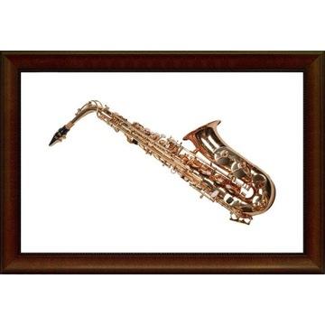 Saksofon altowy K.Glaser kolor złoty M072