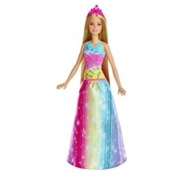 Barbie Dreamtopia Magiczne włosy księżniczki FRB12