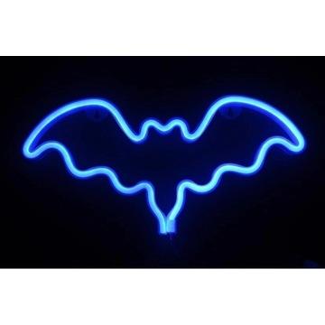 Neon LED Batman, super prezent, lampka dla dzieci