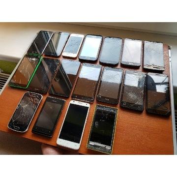 Samsung A3 + 17 telefonów