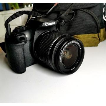 Canon Eos 1300D Obiektyw 18-55 Torba