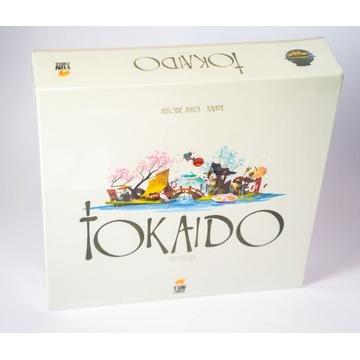 Nowa gra planszowa rodzinna Tokaido.