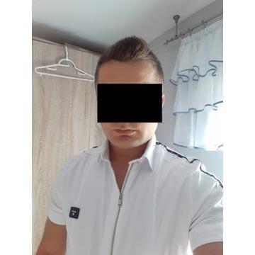 Koszula męska marki Mondo stan b.dobry roz. L