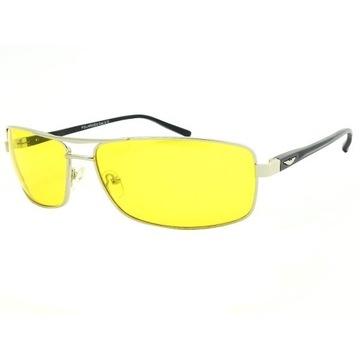 Powystaw. okulary polaryzacyjne do jazdy nocą mgle