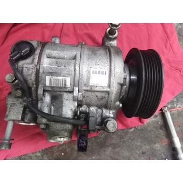 Sprężarka klimatyzacji audi A6 C6 CAN lift 2.7 tdi