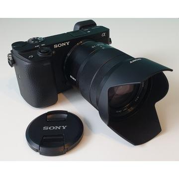Aparat Sony a6300 z obiektywem Vario-Tessar T* E 1