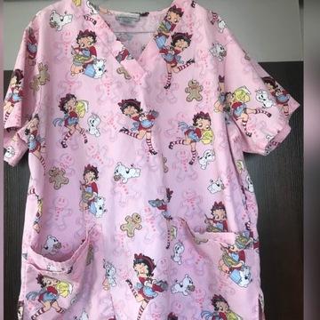 Bluza medyczna kolorowa L/XL
