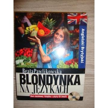 Angielski Brytyjski Blondynka na językach