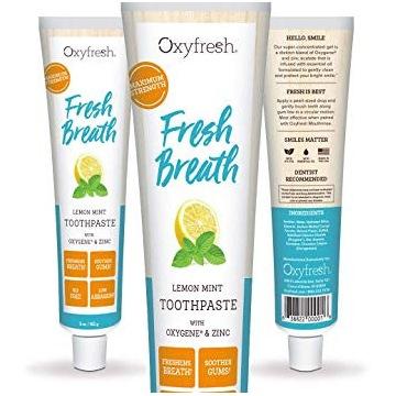 Pasta Fresh Breath Oxyfresh & Zinc NR 1 NA ŚWIECIE