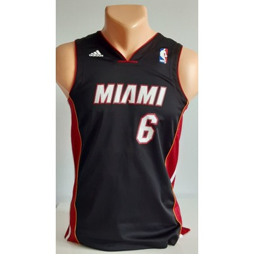 NBA MIAMI HEAT ''LEBRON JAMES'' DZIECIĘA 140-146 S