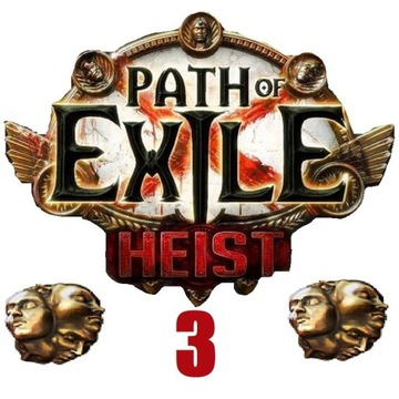 3x Exalted Orb Path of Exile Heist PC Softcore