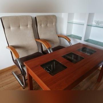 Fotele +stolik