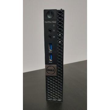 Dell 7040 i5 6500t, 8gb ram, 256 GB SSD