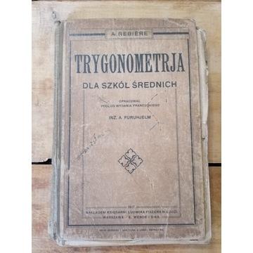 Stara książka TRYGONOMETRIA