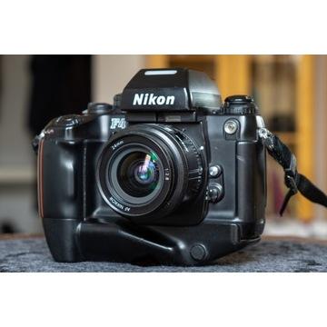 Nikon F4 + mb21