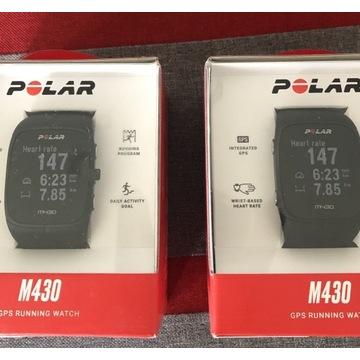 Polar m430 GPS HR nowy multisport