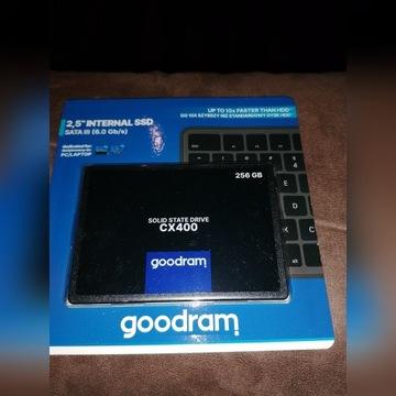 """Dysk twardy SSD 2.5"""" GOODRAM 256GB CX400"""