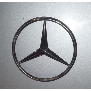 Emblemat, znak, gwiazda Mercedes 124 na klapę