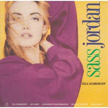 Sass Jordan - Tell Somebody - 1988 unikat rarytas