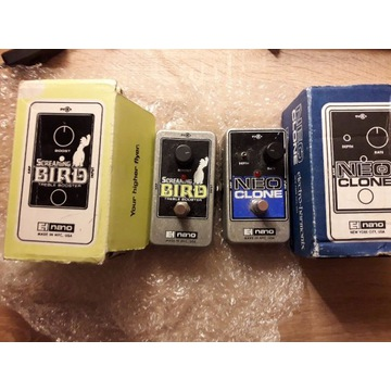 Neo Clone i Screaming Bird Electro Harmonix zestaw