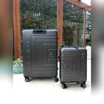 Eleganckie walizki firmy AeroLite 2 szt. Komplet