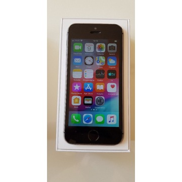 iPhone 5S 16GB Space Gray komplet