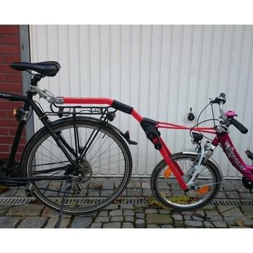 Hol rowerowy holownik roweru