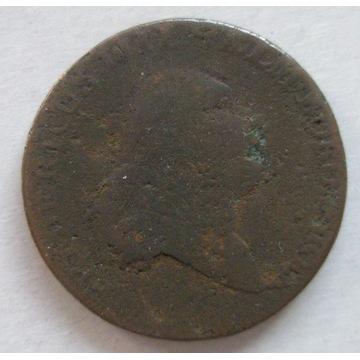 PRUSY POŁUDNIOWE trojak 1797 A, Berlin. Stan 4