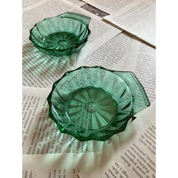 Zielone podkładki arcoroc, zielone szkoło PRL