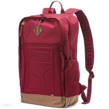Plecak PUMA bordowy duży