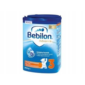 Mleko modyfikowane Bebilon Junior 3 800 g 581449
