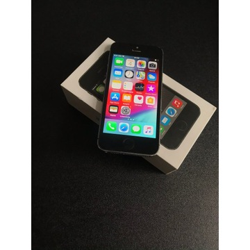 Apple IPHONE 5S Oryginalny Space Gray + CASE