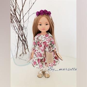 ubranko sukienka paola reina lalka