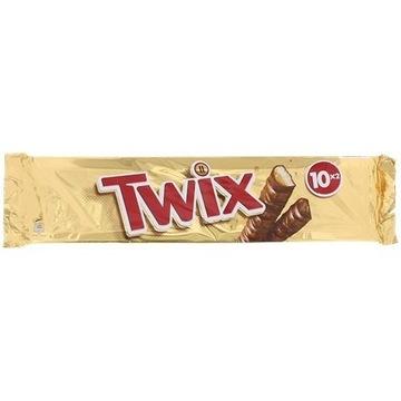 Twix Opakowanie 10 sztuk   500 gramów