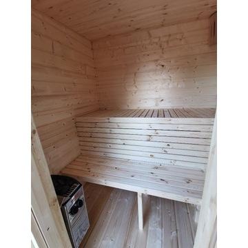 Sauna ogrodowa sucha. Promocja. Solidna