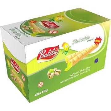 Balila rurki kukurydziane pistacja 18gx48 szt