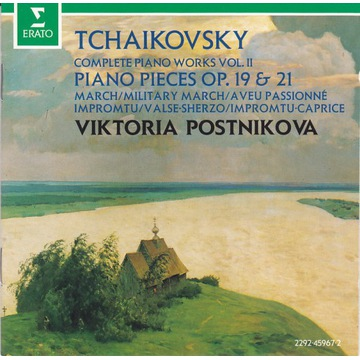 Tchaikovsky / Piano works vol.2 / Postnikova