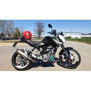 KTM Duke 125cc AKRAPOVIC
